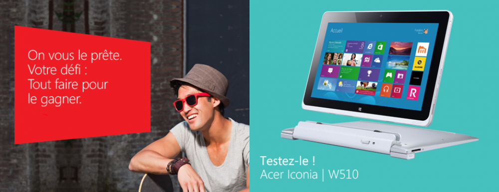 Gagnez un ordinateur Windows 8!