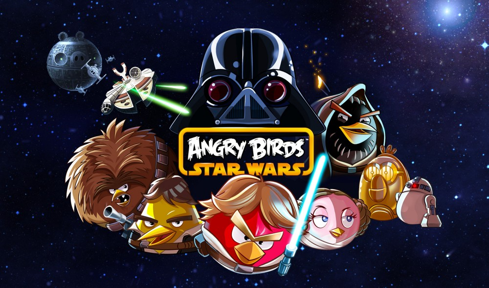 Angry Birds Star Wars disponible pour Windows Phone 8!
