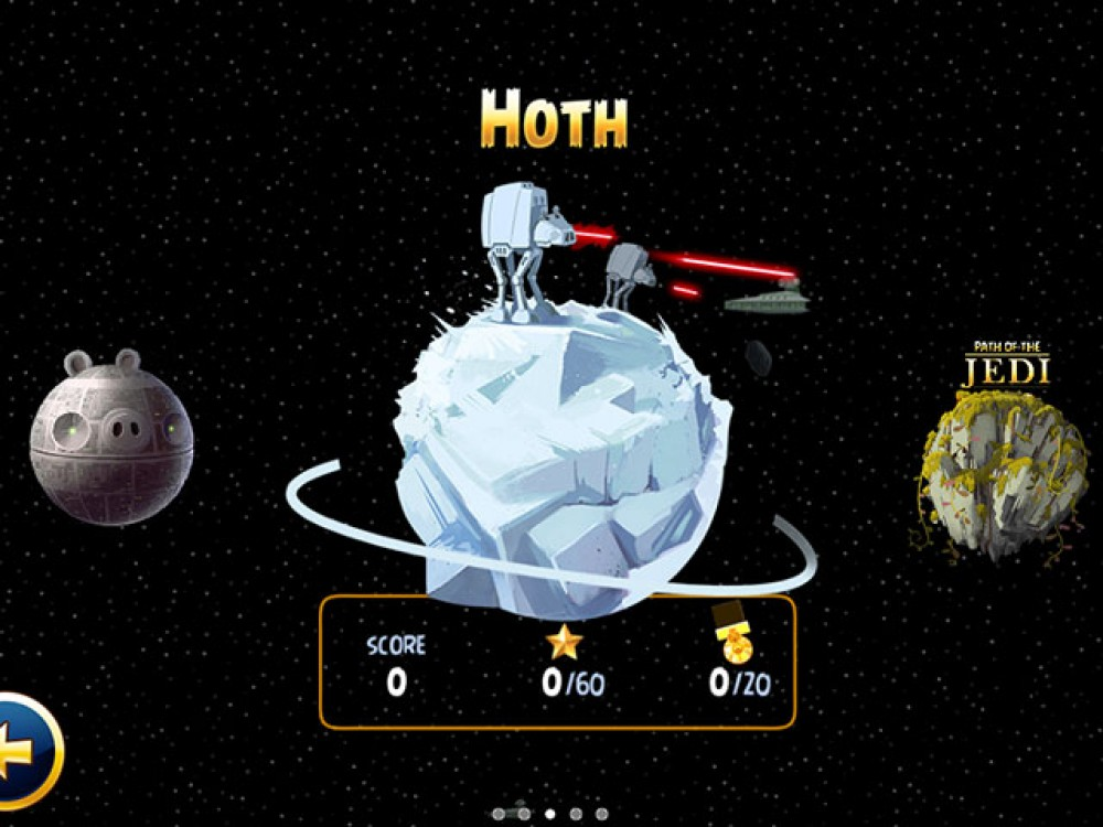 Màj Angry Birds Star Wars WP7.5