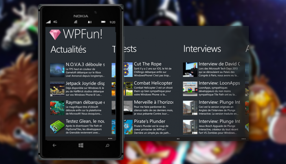 WPFun: l'application officielle disponible!