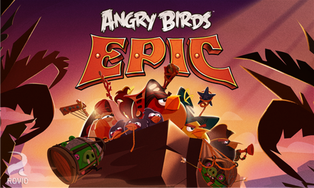 Angry Birds c'est Epic sur Windows Phone & Android!