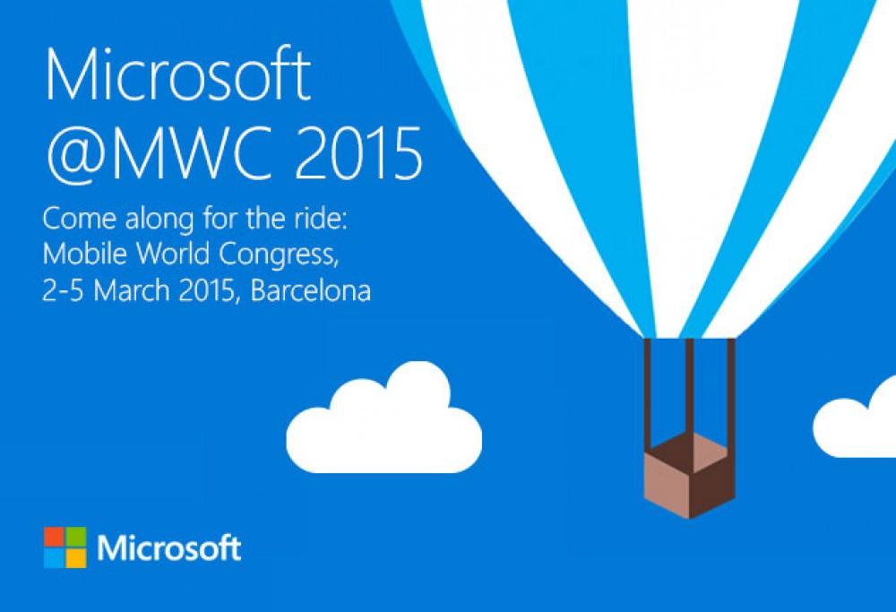 Visionnez en direct la conférence Microsoft au MWC 2015