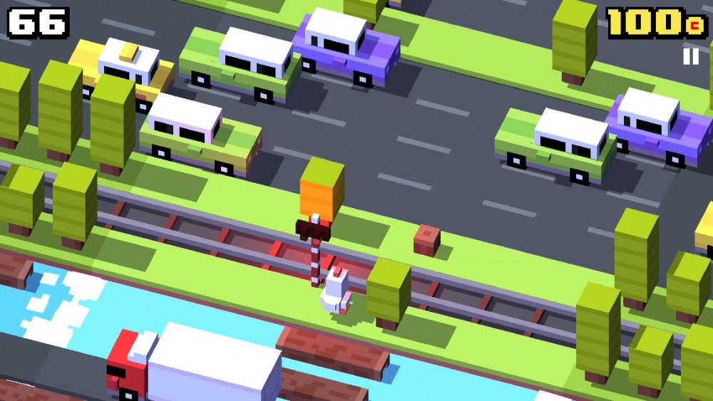 Crossy Road bientôt sur Windows Phone: vidéo!