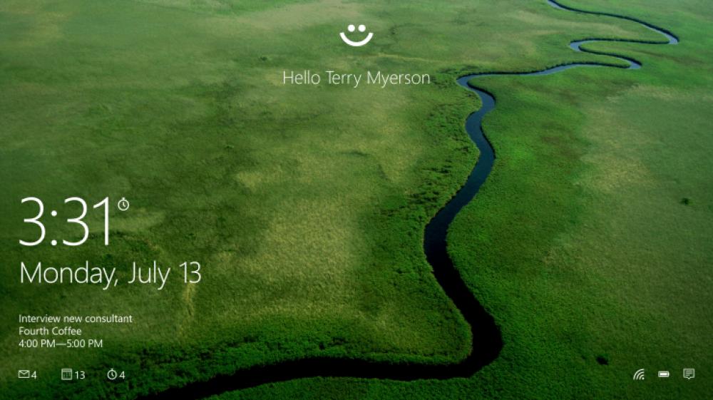 Microsoft Hello: dévérouillez votre ordinateur avec votre iris