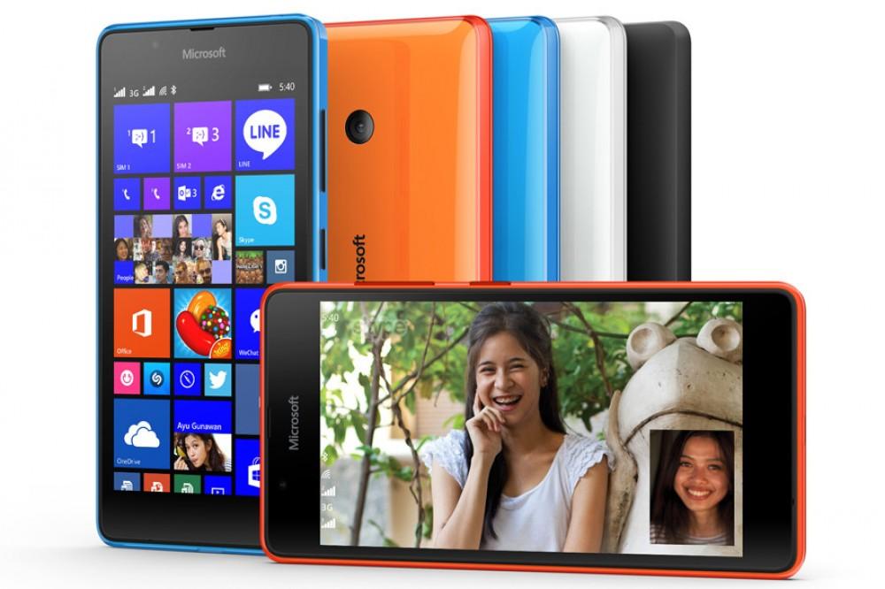 Le Lumia 540 est officiel pour moins de 150$!