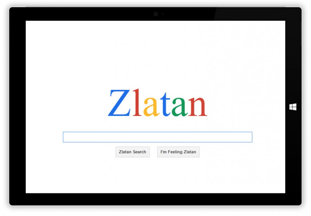 Oubliez Bing ou DuckduckGo, préférez le moteur de recherche Zlatan Search!