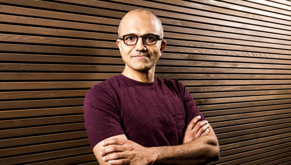 Le PDG de Microsoft Satya Nadella le plus influent des dirigeants