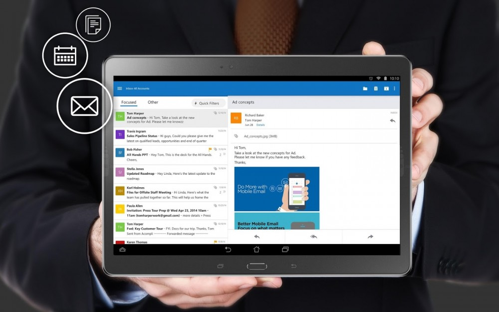 Outlook pour Android est maintenant en version finale