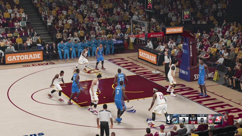 Jouez gratuitement à NBA 2K15 sur Xbox One tout le week end!
