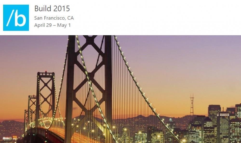 Microsoft publie l'application officielle des conférences Build 2015