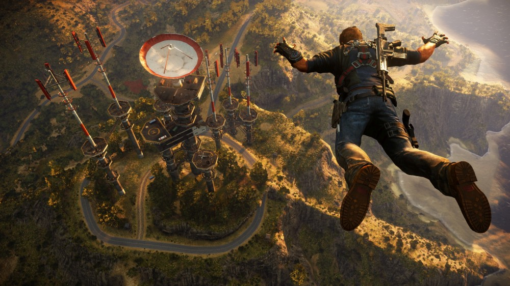 Regardez le trailer explosif de Just Cause 3, le prochain FPS ouvert de Square Enix
