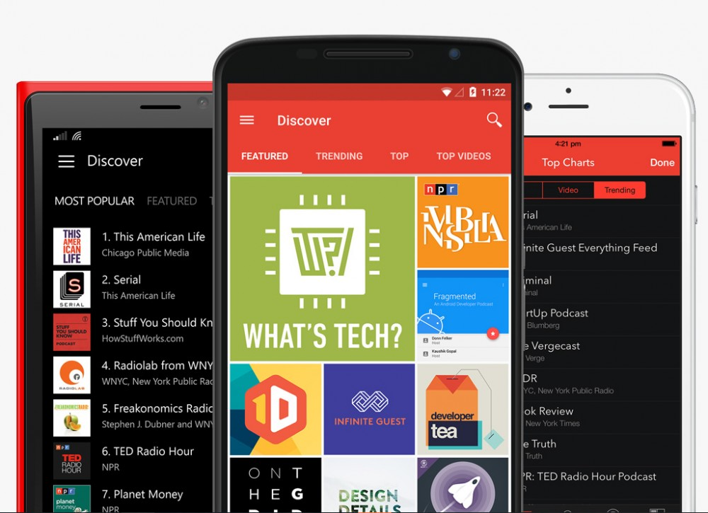 Pocket Casts: synchronisez vos podcasts entre Windows Phone, iOS et Android