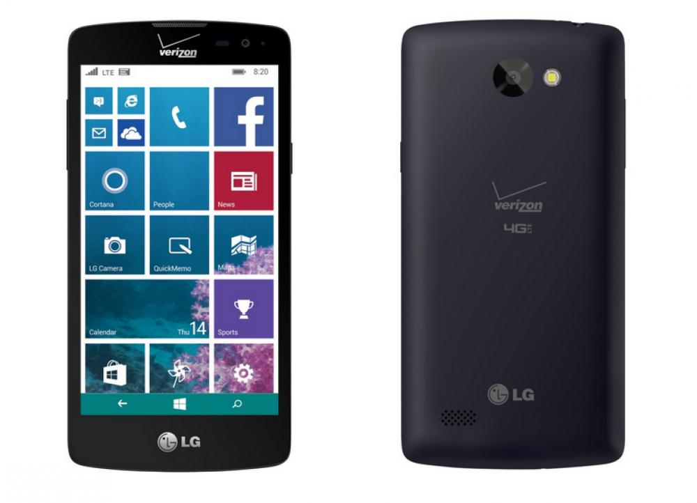 LG revient avec un nouveau Windows Phone bas de gamme