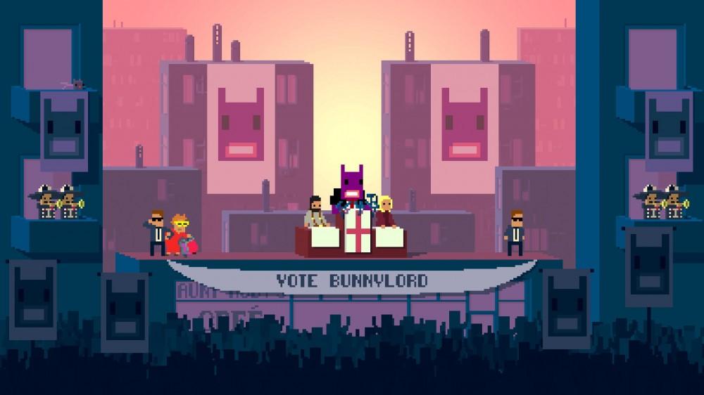 Not A Hero sort aujourd'hui sur Steam: de l'indépendant comme on les aime!