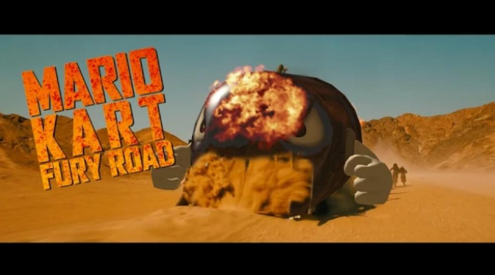 Parodie de Mad Max: Mario Kart Fury Road