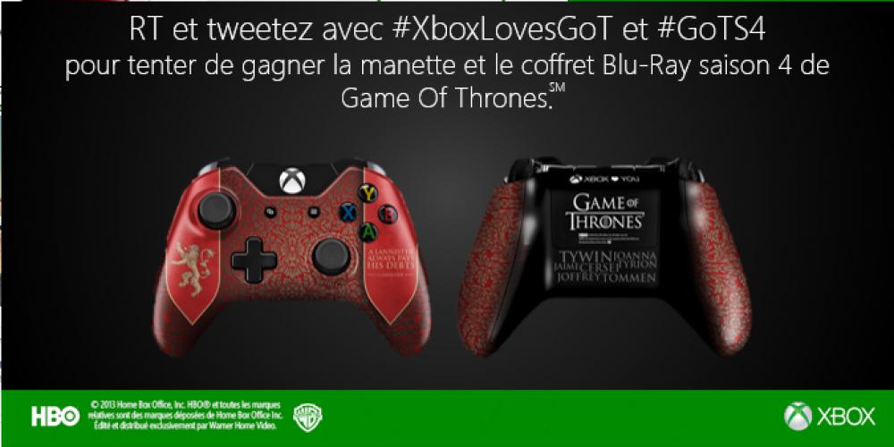 Concours: gagnez le coffret Game Of Thrones Saison 4 et une manette collector
