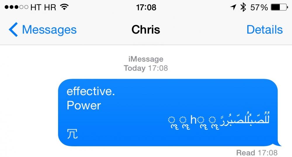iPhone: une faille permet de faire redémarrer le téléphone en envoyant un simple SMS [màj]