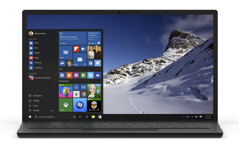Le build 10158 de Windows 10 est disponible pour les Insiders