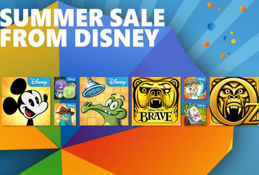 Braderie d'été chez Disney: 9 jeux sont gratuits jusqu'au 17 juin!