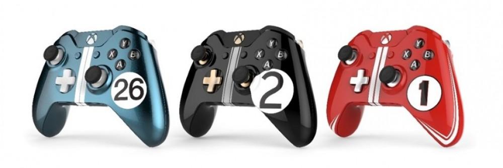 Une manette Xbox One édition spéciale 24h du Mans