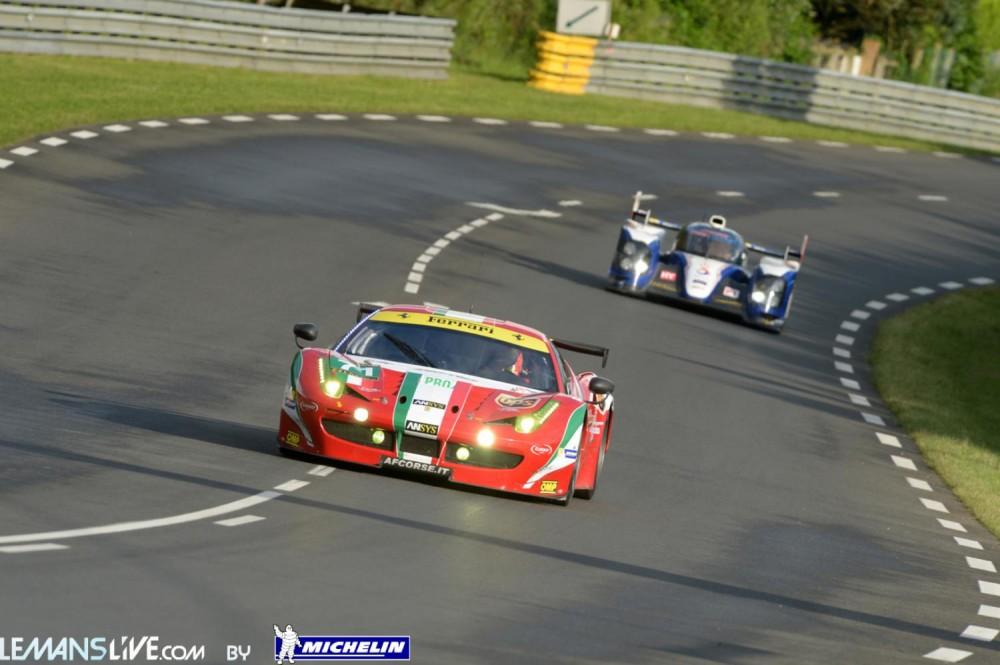 Regardez l'arrivée des 24h du Mans en direct