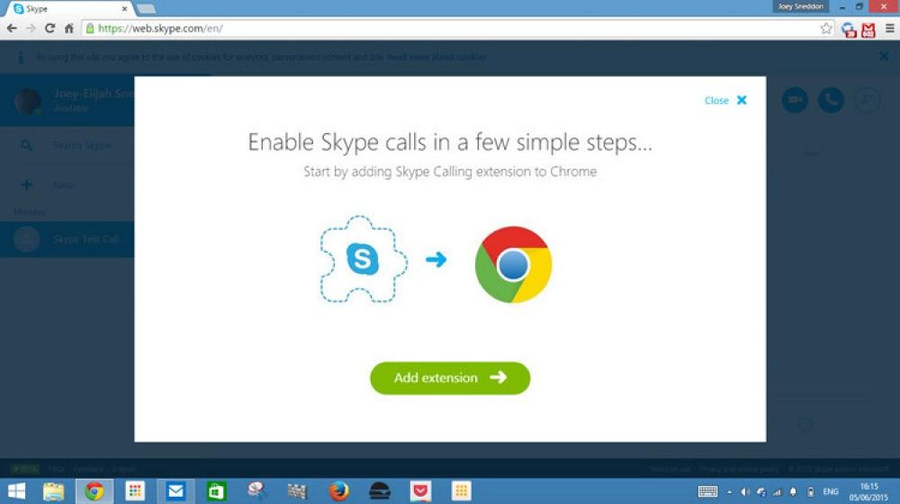 Skype Beta pour le web est maintenant ouvert à tous