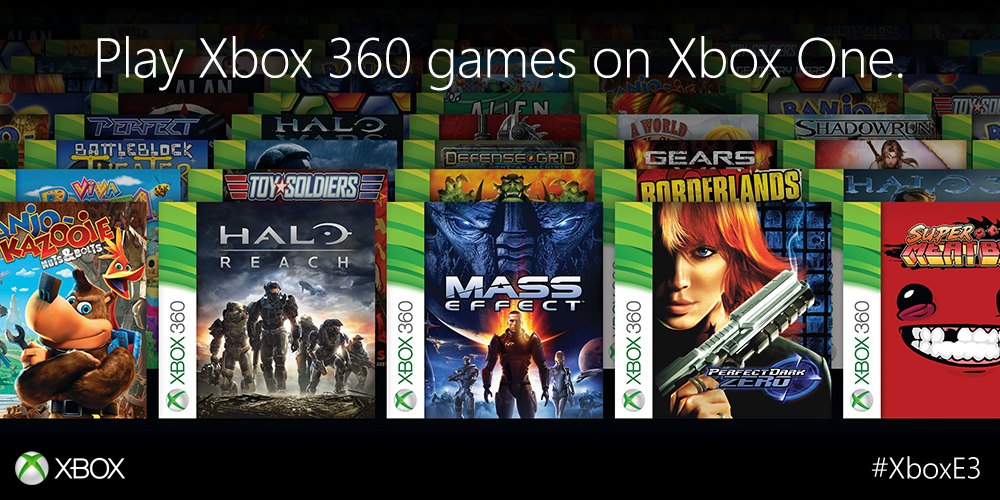 L'accès aux jeux Xbox 360 sur votre Xbox One sera activé ce soir à 21h00