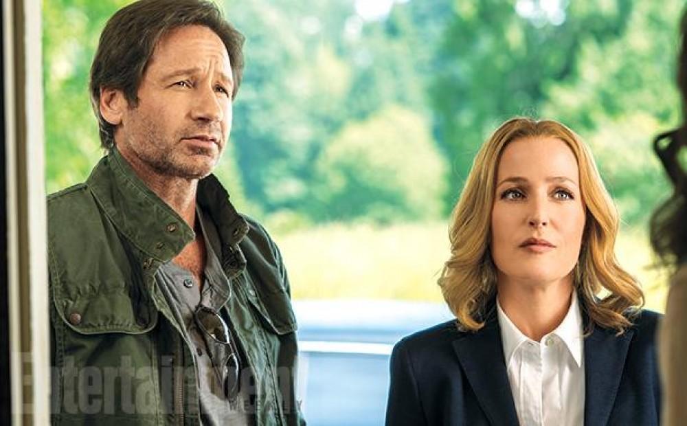 Photos du tournage du retour de la série X-Files