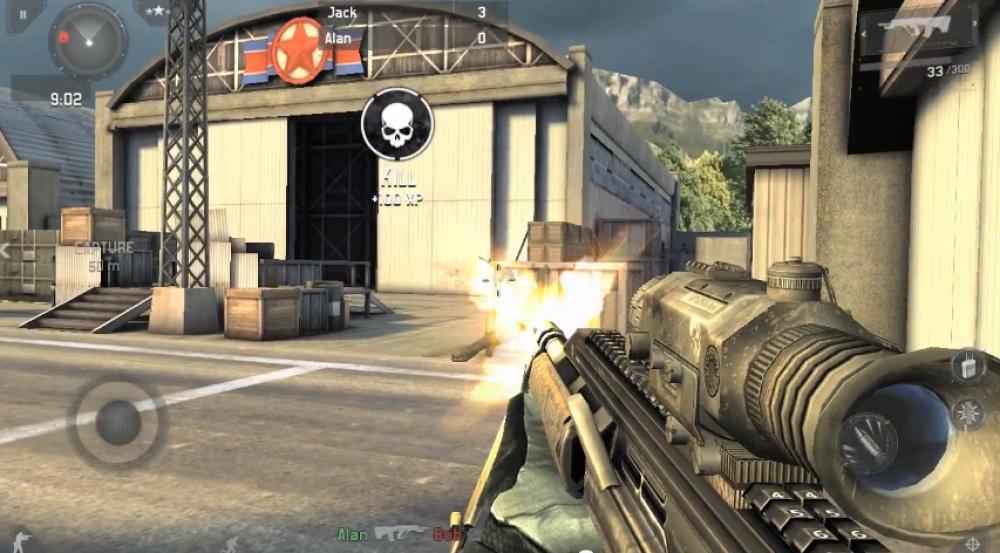 Modern Combat 5: Blackout devient gratuit sur Windows Phone