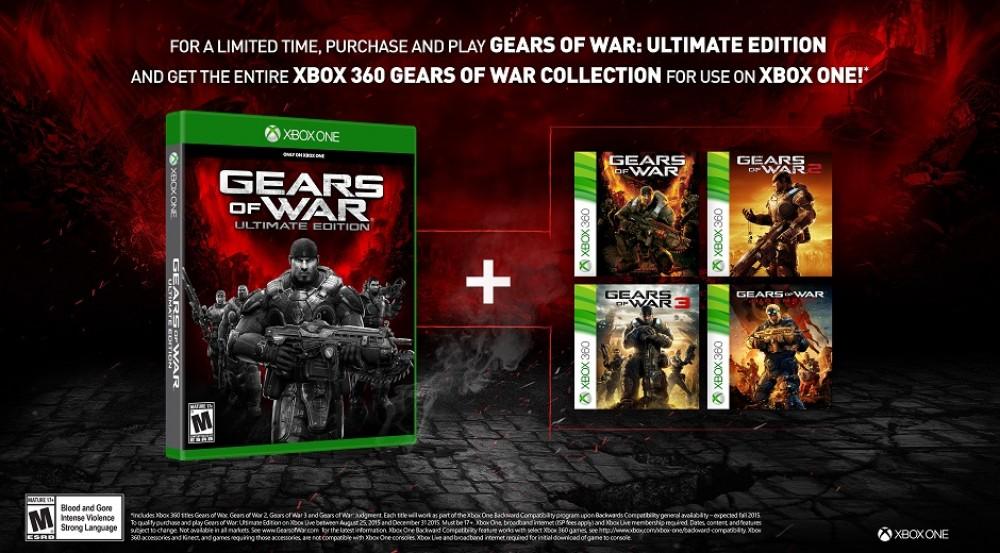 Achetez Gears of War: Ultimate Edition et obtenez gratuitement tous les épisodes de la série!
