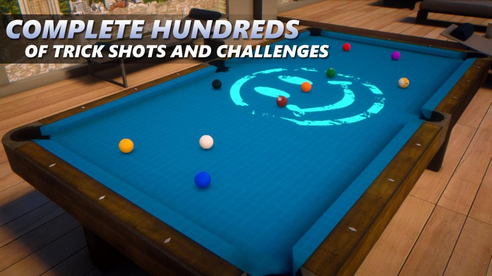 Sky Cue Club: une simulation de billard sympathique sur Windows & Windows Phone