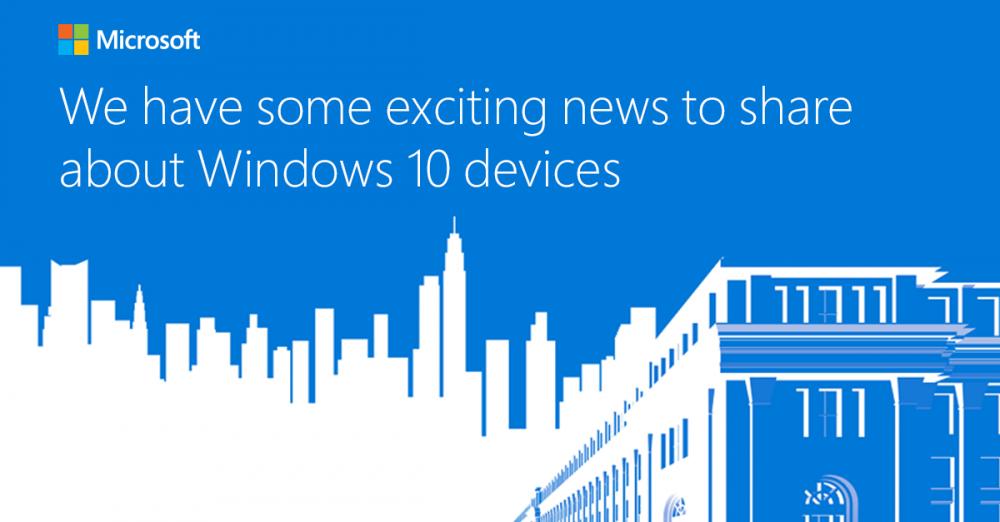 Surface 4, Lumia 950, Band 2: que va annoncer Microsoft lors de sa conférence Windows 10 du 6 Octobre ?