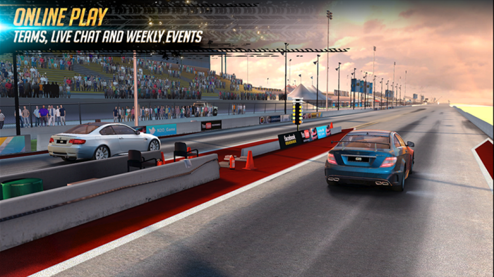 Nitro Nation Online est disponible sur Windows Phone