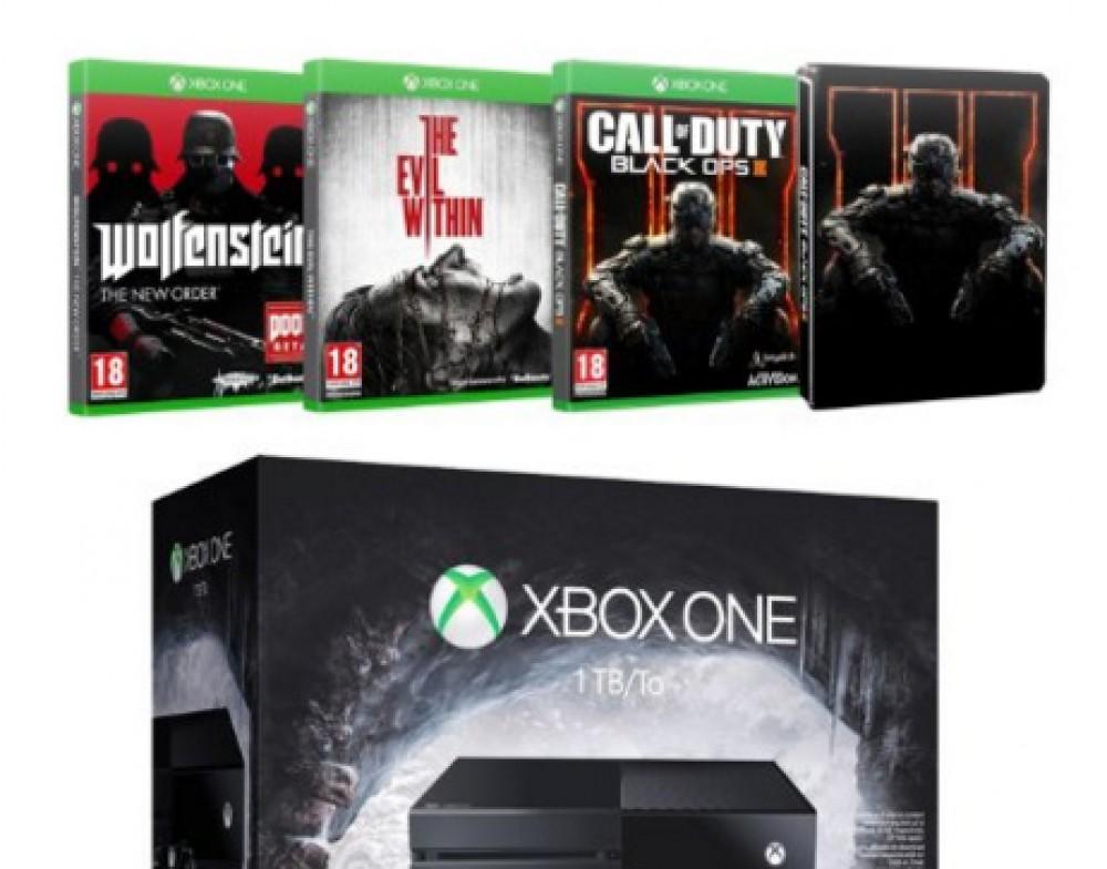 [Bon Plan] Xbox One: console 1To + 4 jeux à 349€ seulement !