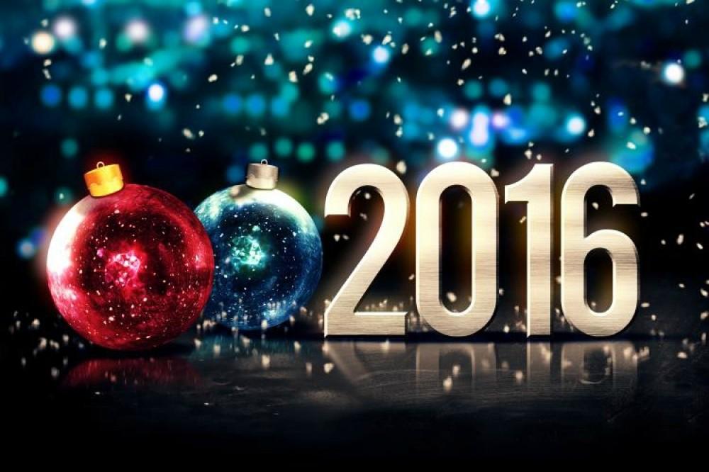 Bonne Année 2016 à tous les lecteurs de Windows Fun