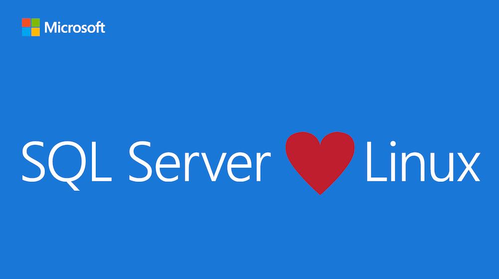 Surprise: Microsoft annonce SQL Server pour… Linux !