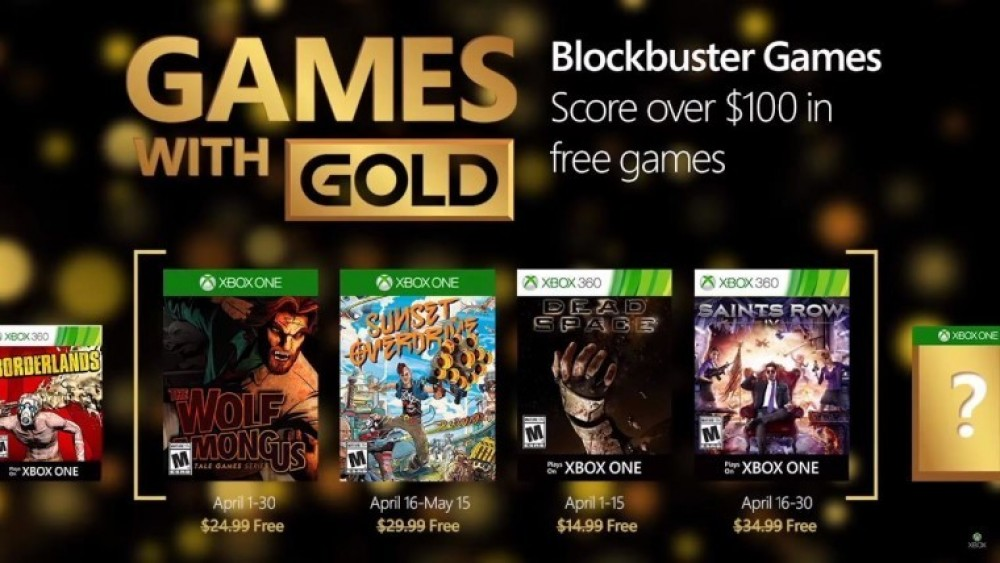 Games With Gold: Sunset Overdrive et Saints Row IV sont gratuits en Avril