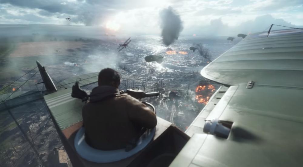 Visonnez la bande annonce explosive de Battlefield 1 de DICE