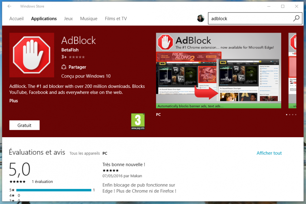 [Tuto] Comment installer & configurer l'extension Adblock pour Microsoft Edge