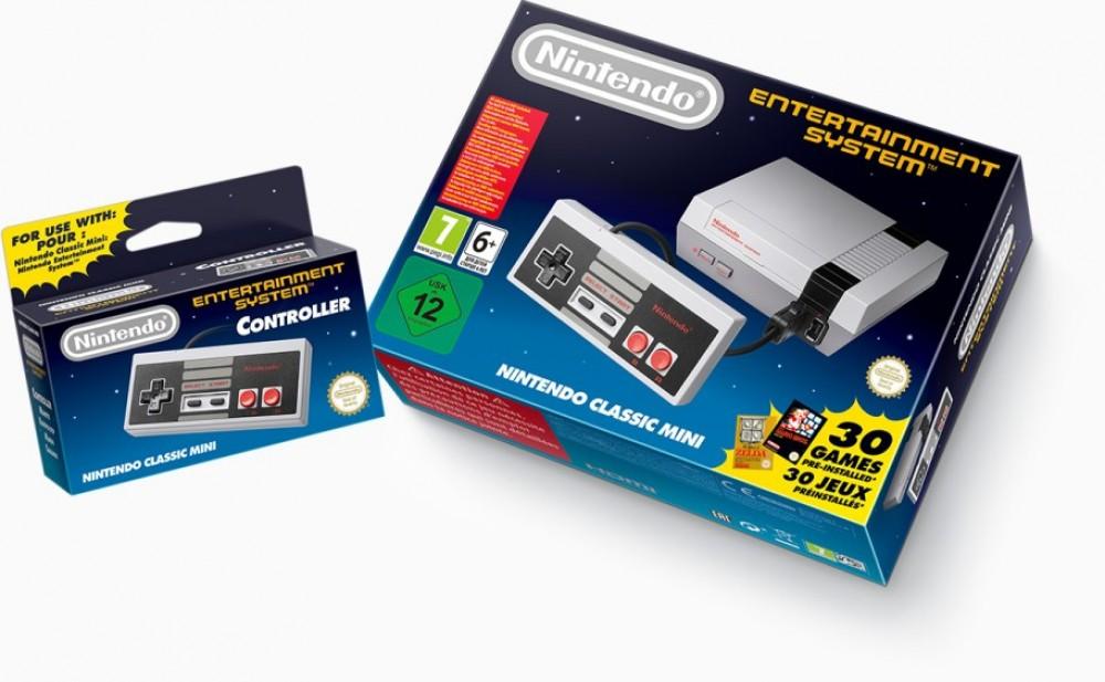 Rétro: Nintendo ressort la NES!