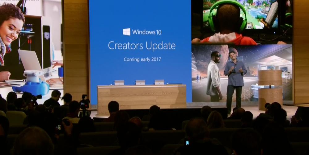 Microsoft annonce Creators Update: la mise à jour Windows 10