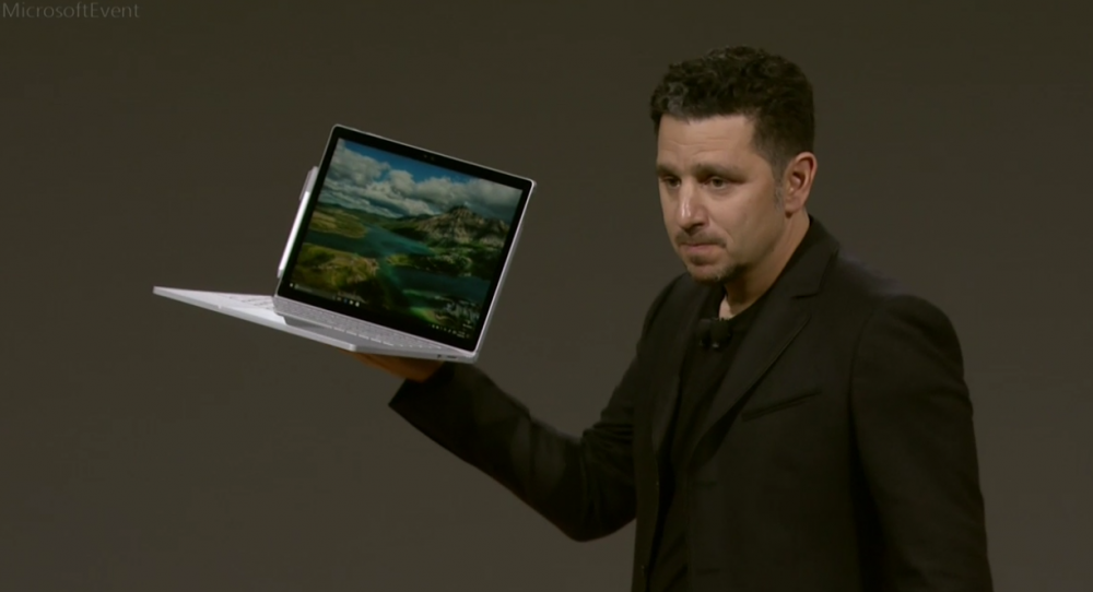Microsoft annonce le Surface Book i7!