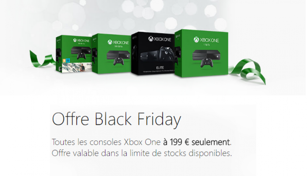 [Mega Plan] Tous les packs Xbox One à 199€ !