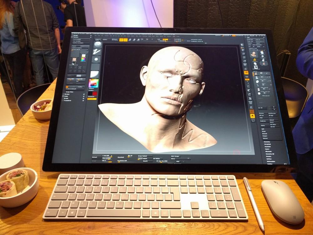 Surface Studio: je l'ai essayé en avant-première!