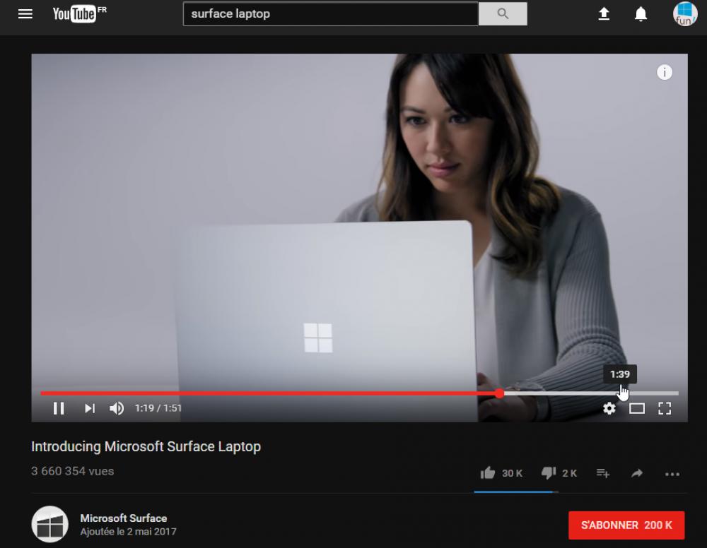 Astuce: activer le mode foncé de YouTube