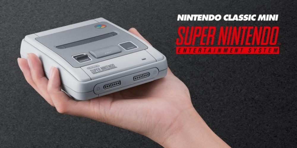 [Màj: les précommandes sont ouvertes!] SNES Mini Classic: Nintendo remet ça!
