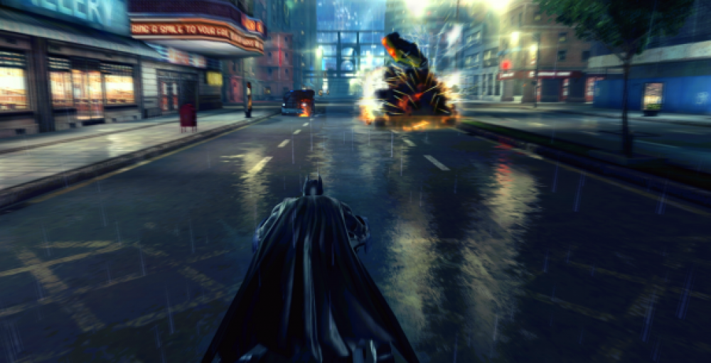 Sortie de The Dark Knight Rises sur Windows Phone 8!