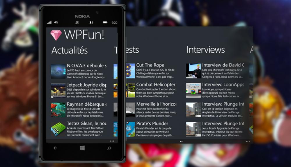 WPFun: l'application officielle disponible!