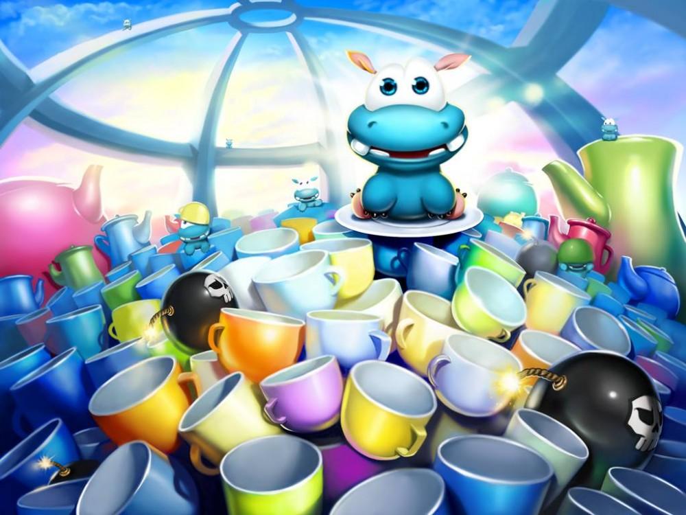 Sky Cups: un jeu de réflexion gratuit bien sympathique!