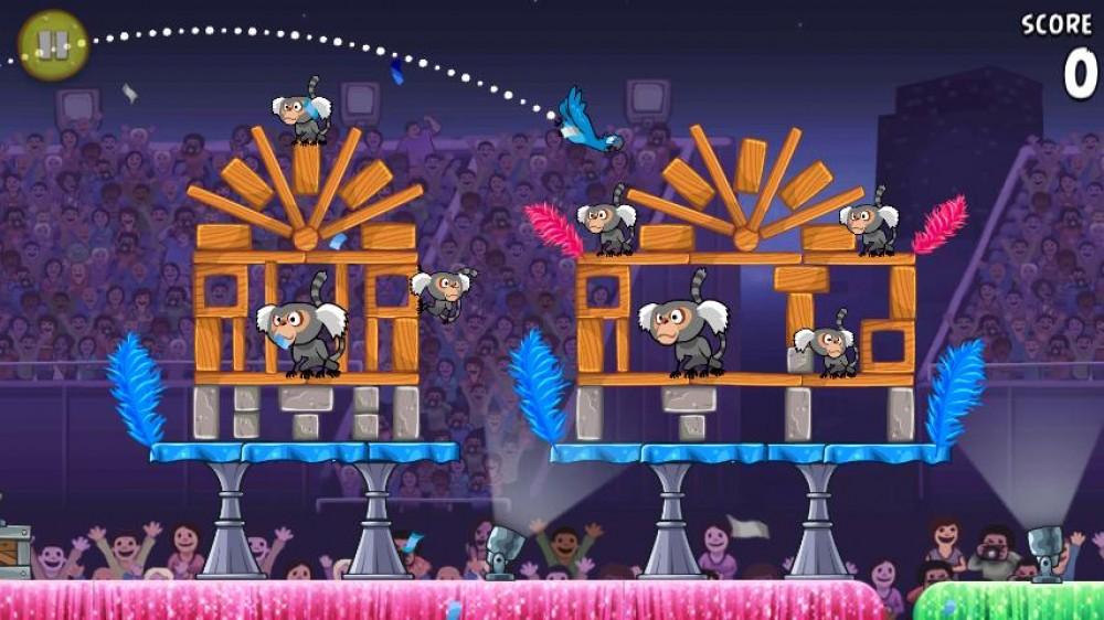Angry Birds Rio s'offre une mise à jour et devient gratuit!!